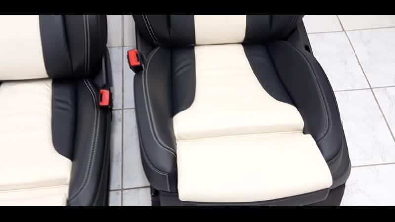 Реставрация кожаных сидений Audi Q7 V12 Patrick Hellmann