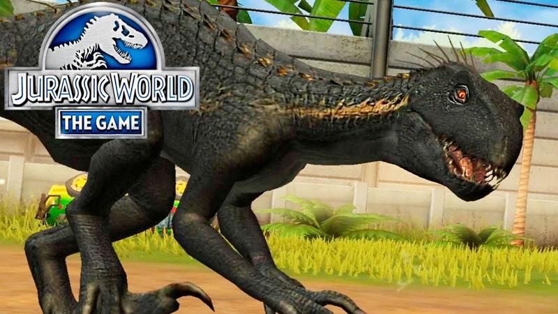 ЧЕТВЁРТЫЙ ИНДОРАПТОР - Jurassic World The Game 224