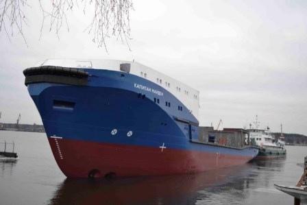 ЯСЗ спустил на воду буксир проекта 23470 «Капитан Найден»
