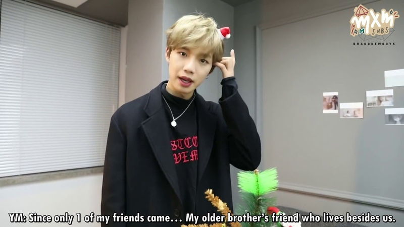 ENG SUB MXMMOMENT Christmas Boy🎅🏻🎄 Minie Minie Youngmin ie's SURPRISE B DAY🎂🎉