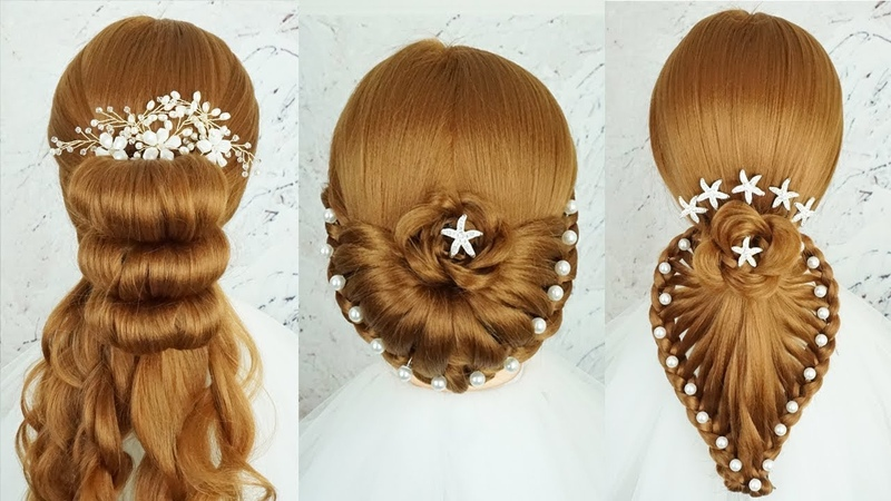 5 Easy And Beautiful Hairstyles For Party - Hairstyles For Girls | Updo Hairstyles Easy