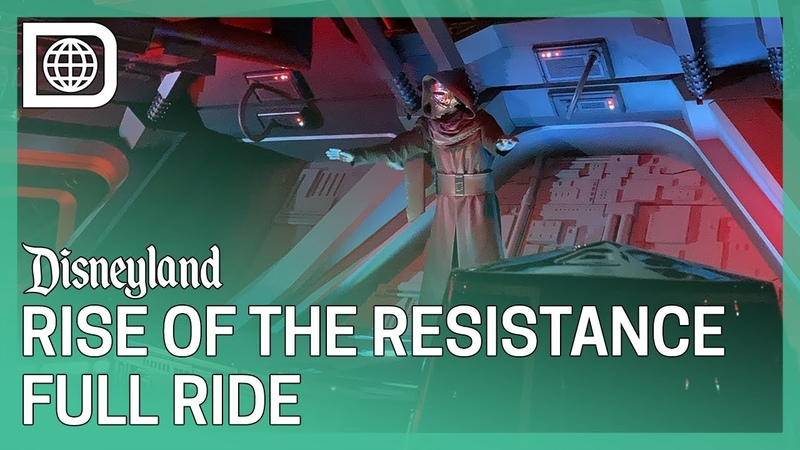 Star Wars Rise of the Resistance Full Ride POV Disneyland