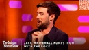 Jack Whitehall Pumps Iron With The Rock | The Graham Norton Show | October 4, 11pm | BBC America