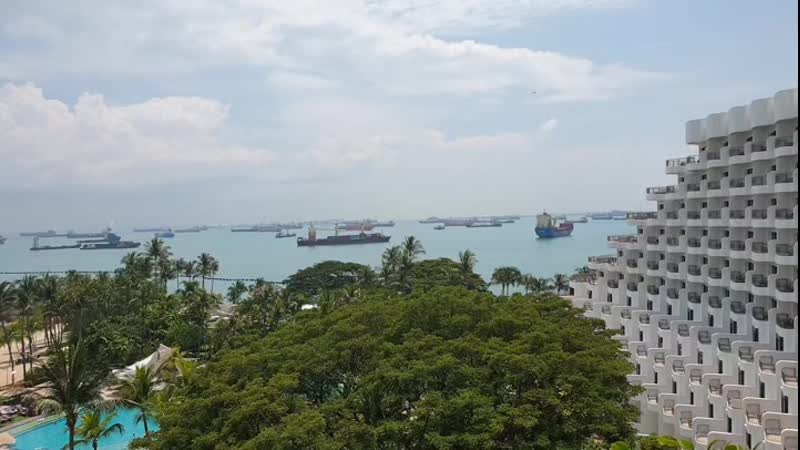 Наш новый дом на острове Сентоза Сингапур