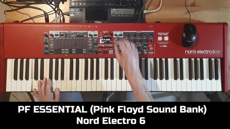PF ESSENTIAL PINK FLOYD SOUND BANK NORD ELECTRO 6