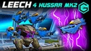 War Robots LEECH 4 HUSSAR MK2 Champions League ЛИЧ Скорострельный Снайпер