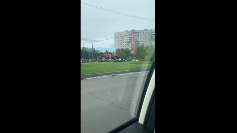 Последствия столкновения BMW и Chevrolet Lanos видео из сообщества ЗелАО AUTO Зеленоград