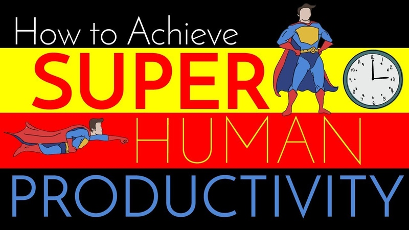 Super Human Productivity Efficiency Tips from a Surgeon
