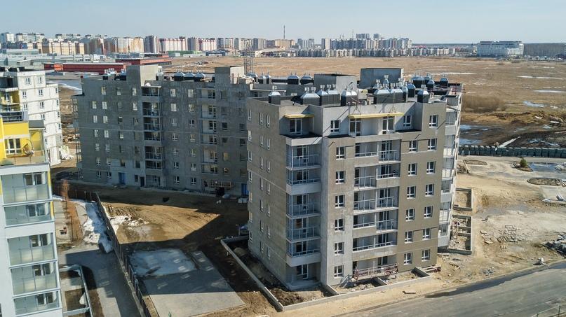 Отчет о ходе строительства апрель 2020 ЖК «Апрель», изображение №10