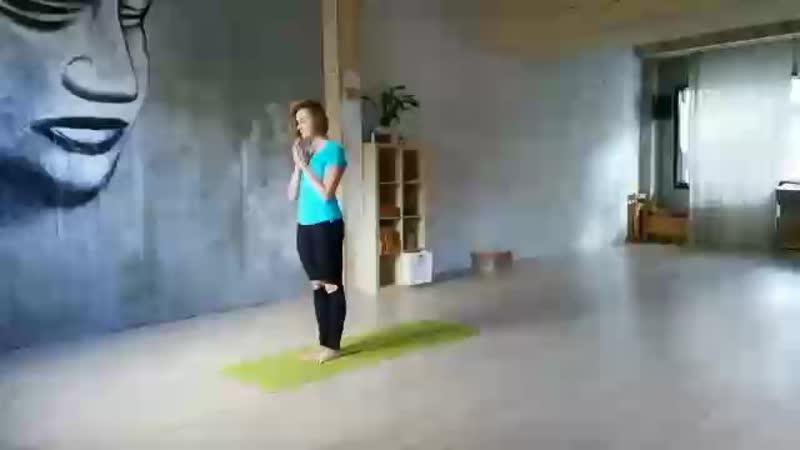 Сурья Намаскар от Ани Жулановой