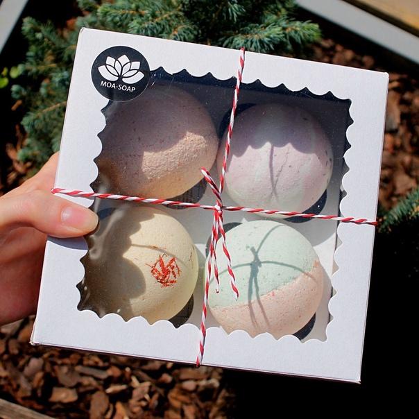 Подарочный набор бомбочек для ванны✨