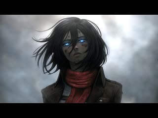 Mikasa ackerman shingeki no kyojin (attack on titan)