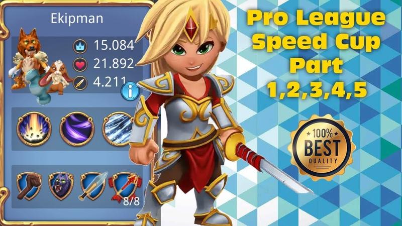 Royal Revolt 2l Pro League Speed Cup Part 1,2,3,4,5