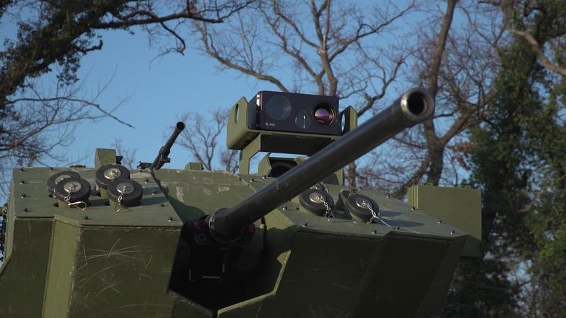 Prikaz modernizovanog borbenog vozila pešadije BVP M 80A