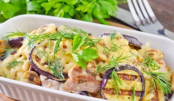 Грудка с баклажанами: лучшие рецепты
