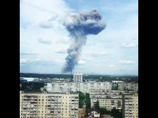 мощный взрыв в Дзержинске  Рамблер Новости