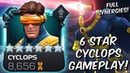 6 Star Cyclops Act 6 Variant Gameplay with Full Synergies! - Marvel Contest of Champions