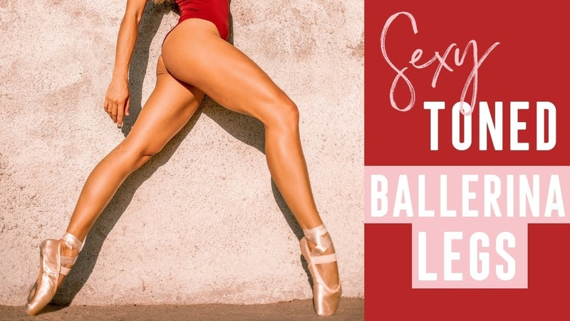 Sexy Toned ballerina legs workout | 15 Minutes At Home