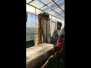 Детский Рождественский  утренник в женском Моностыре В Абхазии