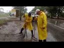 Работы по ликвидации скопления воды на ул. Дружбы в 23 м/р.