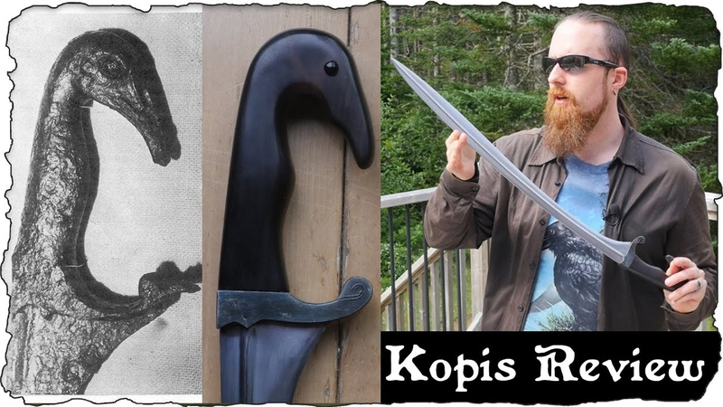 Finally an Accurate Low Mid Range Kopis Reproduction Kris Cutlery