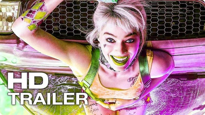 ХИЩНЫЕ ПТИЦЫ Русский Трейлер 1 (2020) Марго Робби, Харли Квинн DC Superhero Movie HD