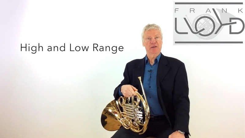 French Horn: Improve flexibility in your High and Low Range. Tutorial Nr. 2 Frank Lloyd No Limits