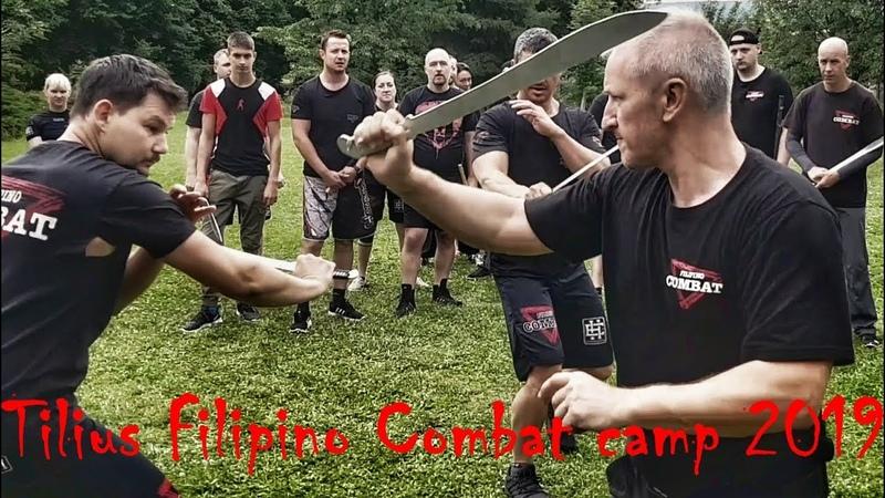 Filipino Combat Czech 2019 Kali Arnis Eskrima Modern Arnis sebeobrana