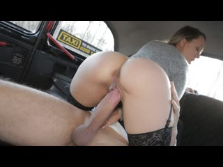 Blue Angel - The Londoner in the Hungarian (Creampie, Big Tits, Blowjob, Hardcore, Brunette, Car, Fake Taxi)
