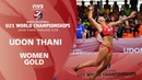 Women's Gold Medal BRA vs RUS FIVB Beach Volleyball U21 World Championships 2019 Udon Thani
