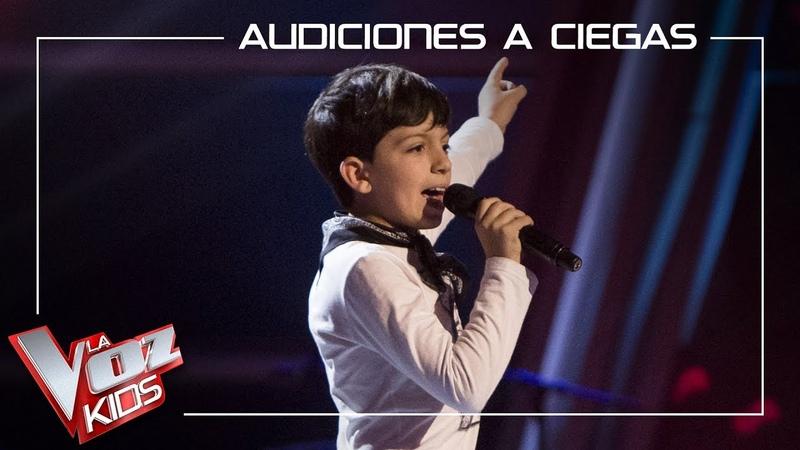 Pablo Castiñeira canta 'Sweet child of mine' | Audiciones a ciegas | La Voz Kids Antena 3 2019