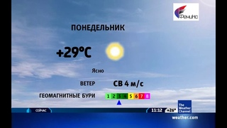 The Weather Channel: Local on the 8s - 17.06.2019 г. (11:10 по МСК времени)