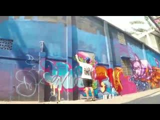 Граффити на фестивале СОРВИГОЛОВА 11 августа в Екатеринбурге