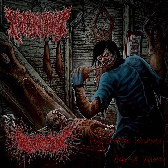 Various Artists - Psychosomatic Inhumane Acts of Violence [Split]