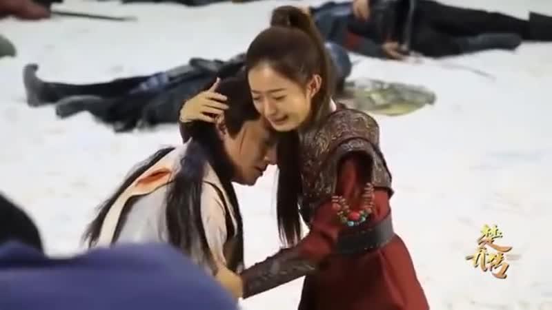 Легенда о Чу Цяо Видео со съемок 9