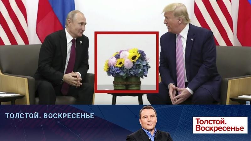 Встреча В Путина и Д Трампа стала главным событием на саммите Большой двадцатки в Японии