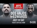 EA Sports UFC 3 Рафаэль дос Аньос Леон Эдвардс Rafael dos Anjos Leon Edwards