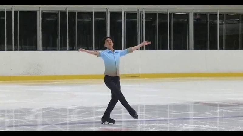 Vincent Zhou. U.S. International Figure Skating Classic 2019 Короткая программа SP | 89,03