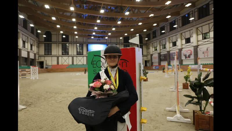 Ксения Хайрулина - абсолютный победитель 140 см Серебряный тур