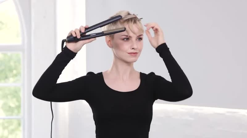 Textured Pixie - ghd Hairstyle How-To