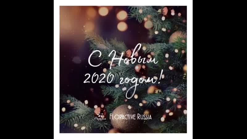 Наша дружная и большая команда Floractive Russia поздравляет всех с наступающим Новым годом 🥳🎉 ⠀ Мы желаем вам здоровья и счасть