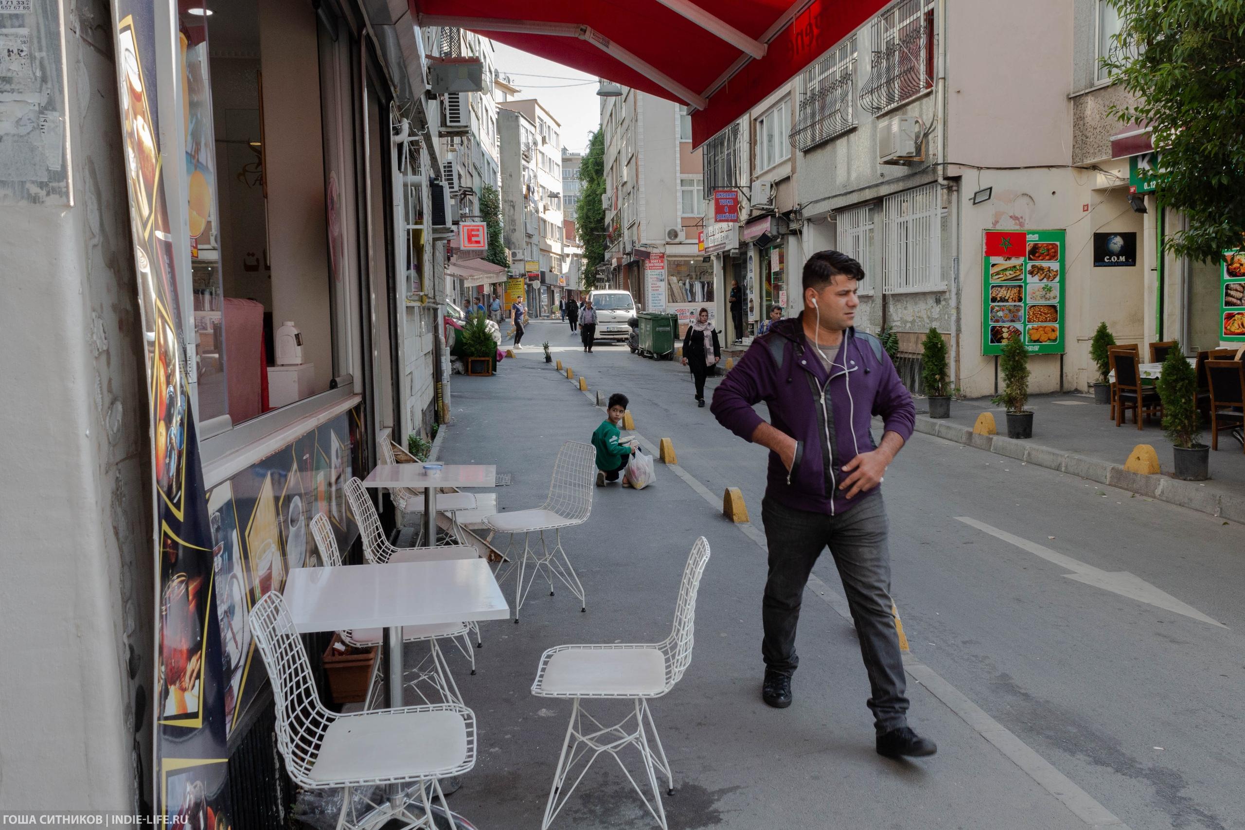 Уличные кафе Стамбул