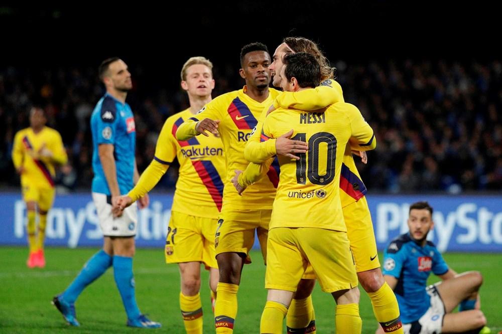 Наполи - Барселона, 1:1. 1/8 Лиги чемпионов 2019/20