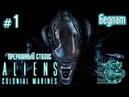 Aliens Colonial Marines:Прерванный стазис[ 1] - Бедлам (Прохождение на русском(Без комментариев))