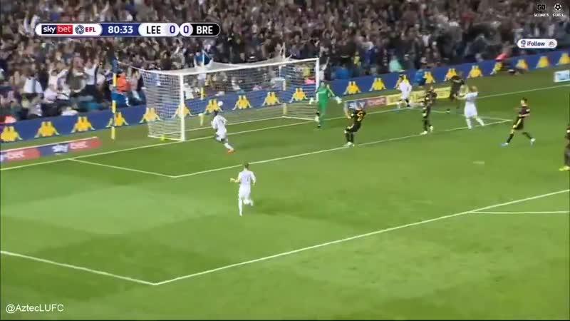 On loan Arsenal striker Eddie Nketiah scores four minutes