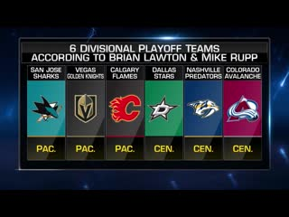 Nhl tonight western conference oct 1, 2019