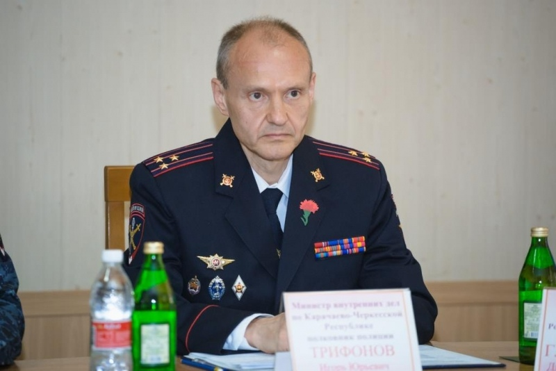 Путин уволил главу МВД по КЧР