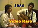 Vídeo RARO Leandro e Leonardo 1986 Fui um tolo country CANAL TREPIDANTS