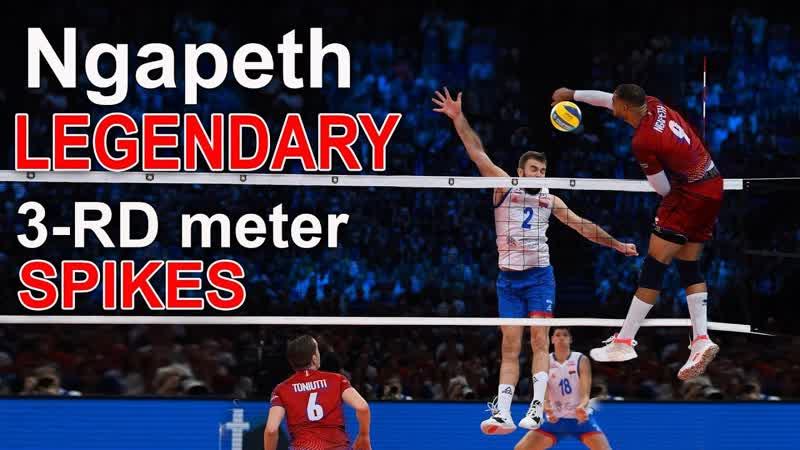 LEGENDARY Volleyball 3-RD meter SPIKES by Earvin Ngapeth