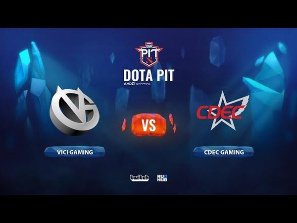 Vici Gaming vs CDEC Gaming OGA Dota PIT Season 2 China bo5 game 2 Smile Eiritel